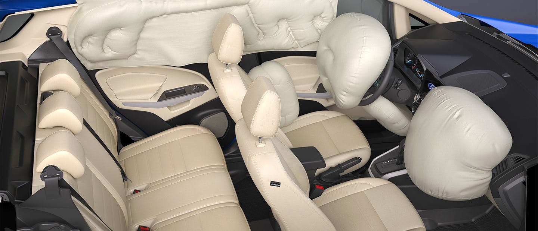 O único do segmento com 7 Airbags de série