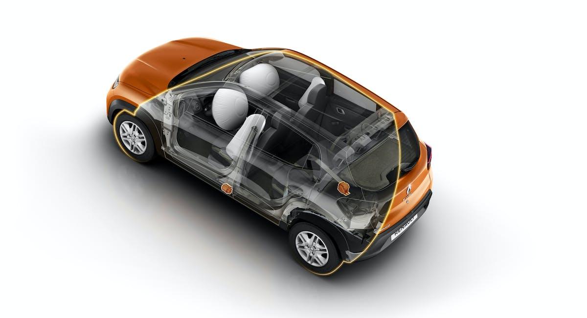 O único com 4 airbags