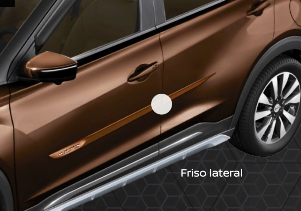 Friso Lateral - Nissan Kicks