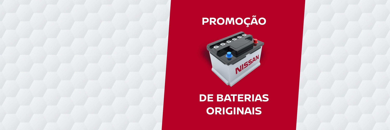 Promoção de Baterias Originais