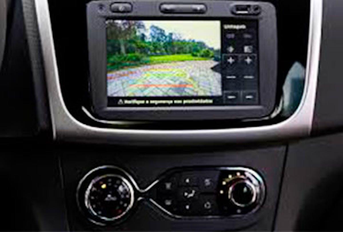 Câmera de ré - Compatível com MediaNav Renault