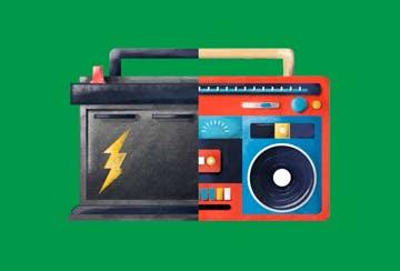 Troca de Bateria 72A (Peça + mão de obra)