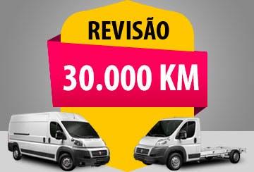 Revisão a partir de 30.000 km (peças + mão de obra) - Motor 2.3
