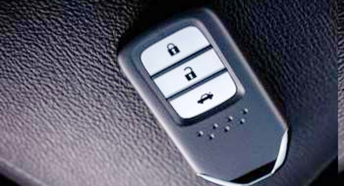 Chave com Função Smart Key