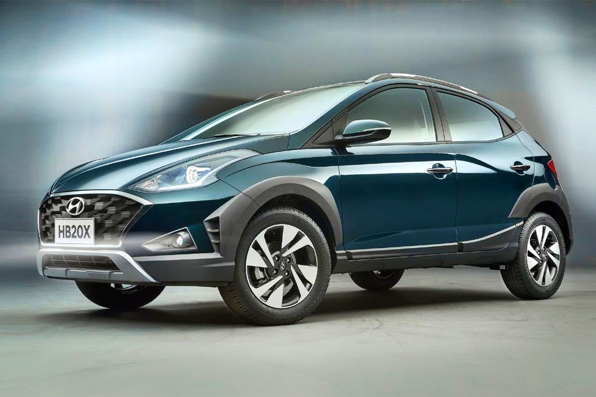 Hyundai HB20X Nova Geração