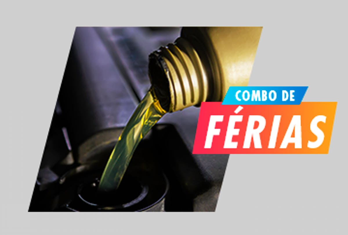 Troca de óleo + Óleo do Motor + Filtro de Óleo + Filtro de combustível