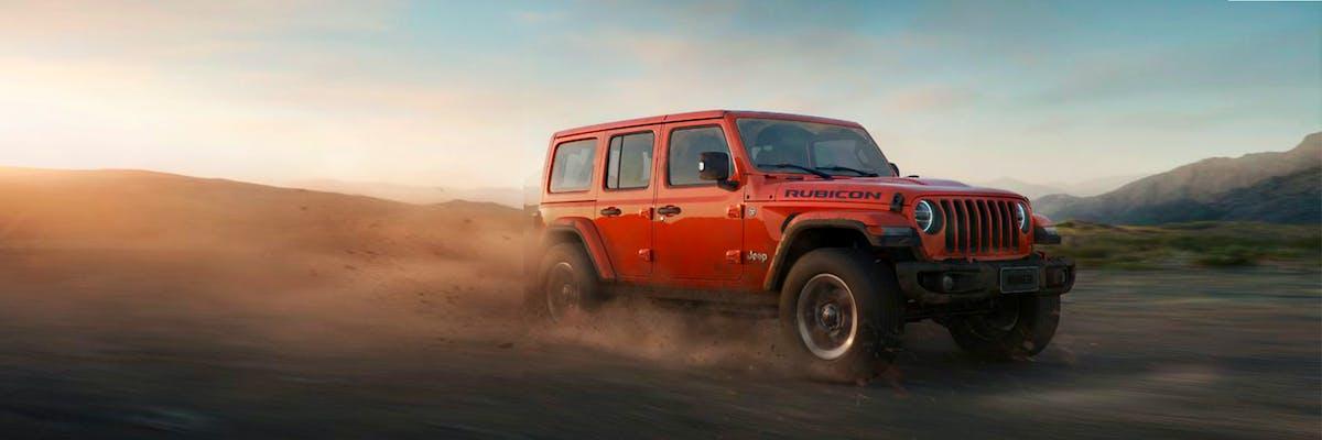 Jeep Wrangler Rubicon 4X4 AT 2020