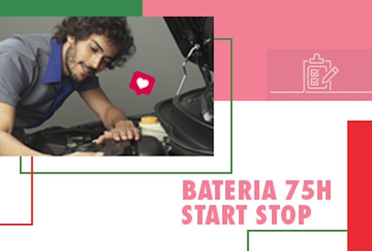 Troca de Bateria 75Ah Start Stop
