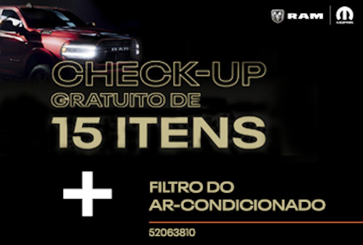 Filtro do Ar-Condicionado + Check-up de 15 Itens