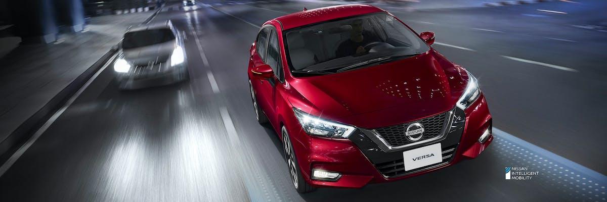 Novo Nissan Versa