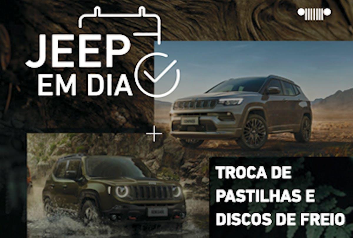 TROCA DE PASTILHAS E DISCOS DE FREIO (DIANTEIROS)