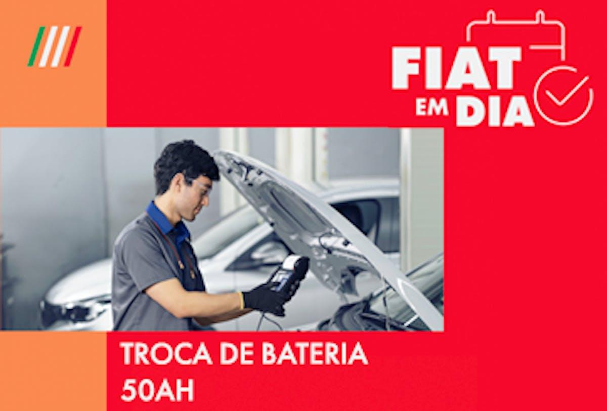 TROCA DE BATERIA 50AH