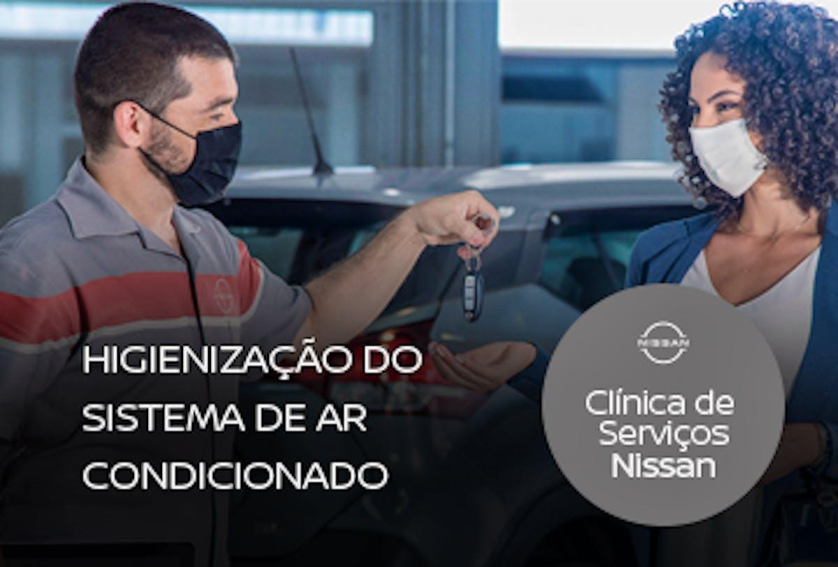Higienização do Sistema de Ar Condicionado + Filtro Anti Polén