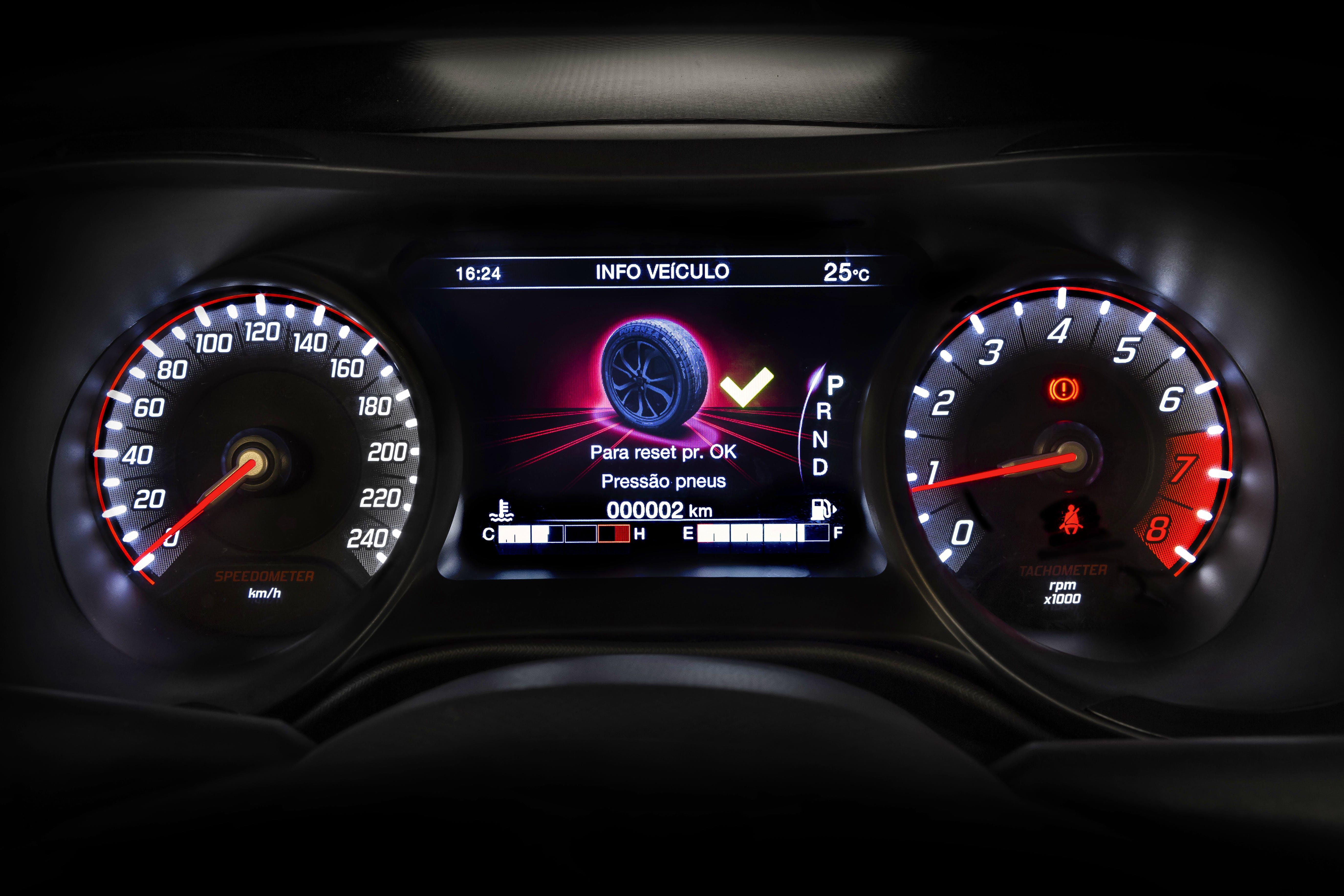 """Quadro de instrumentos de LCD personalizável de 7"""""""