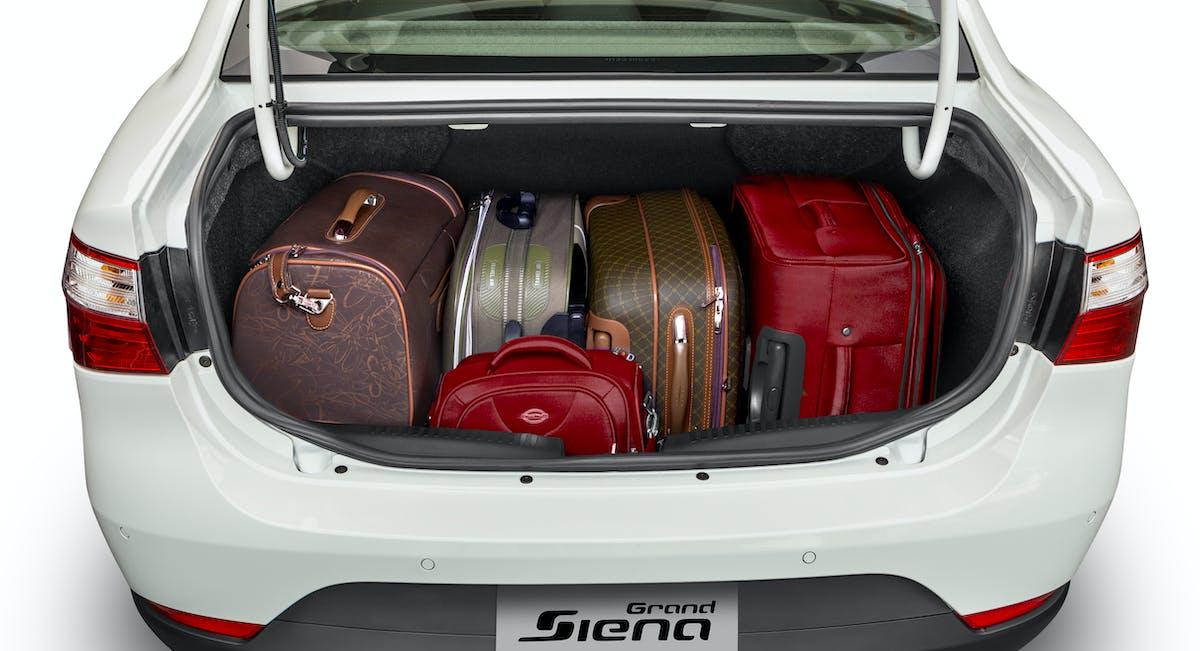 Porta-malas com auto abertura