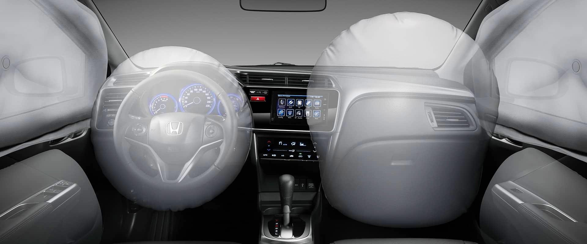 6 airbags (frontais, laterais e de cortina)