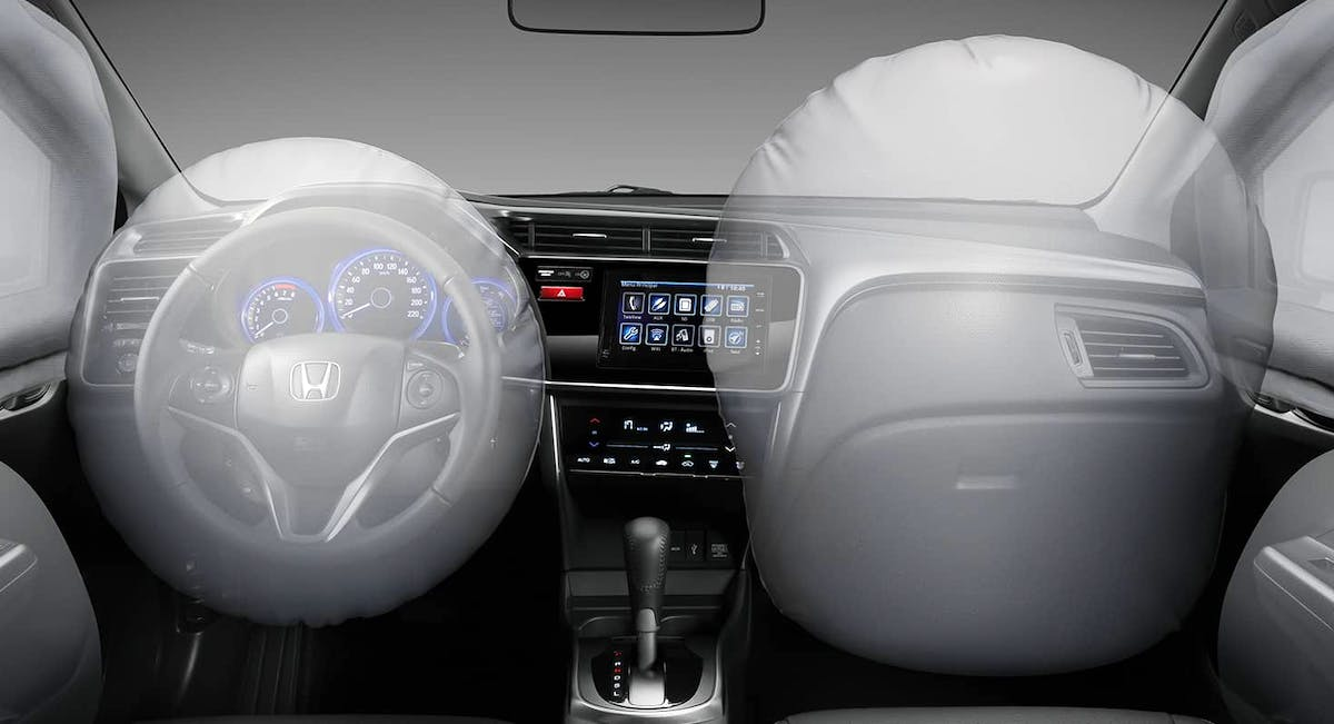 6 airbags (frontais, laterais e de cortina)