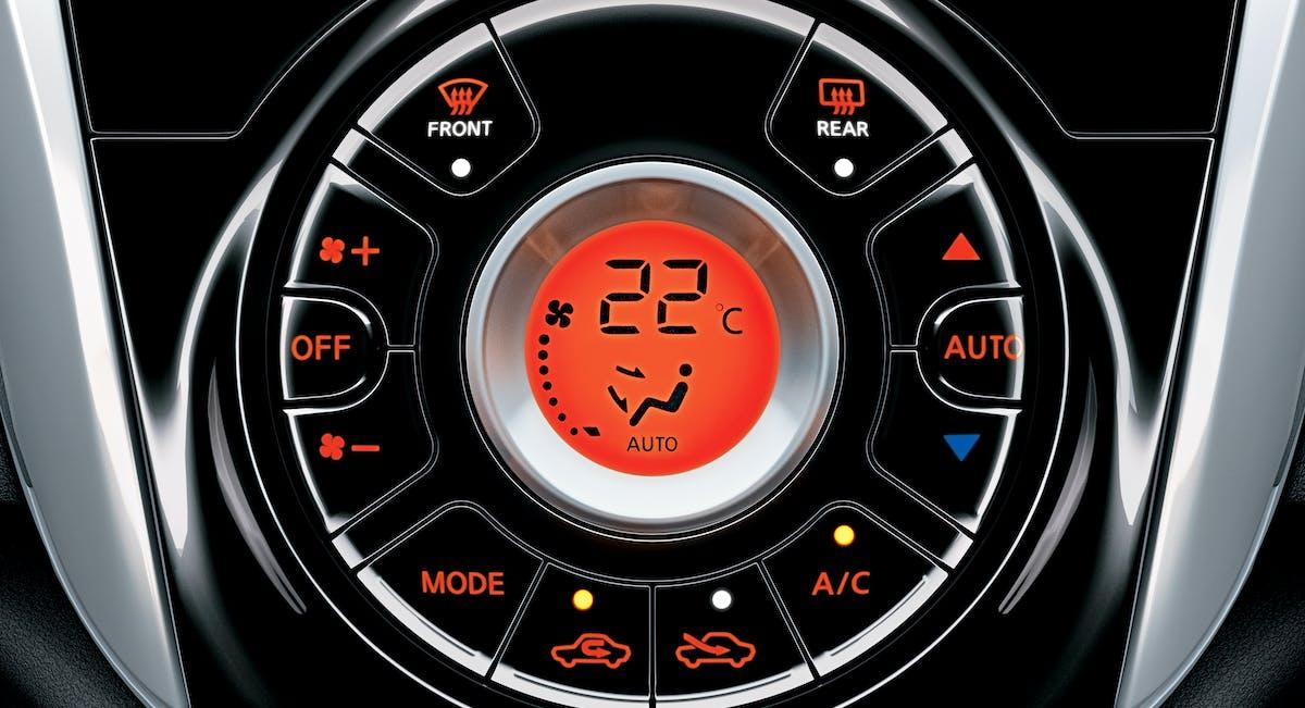Ar-condicionado digital automático