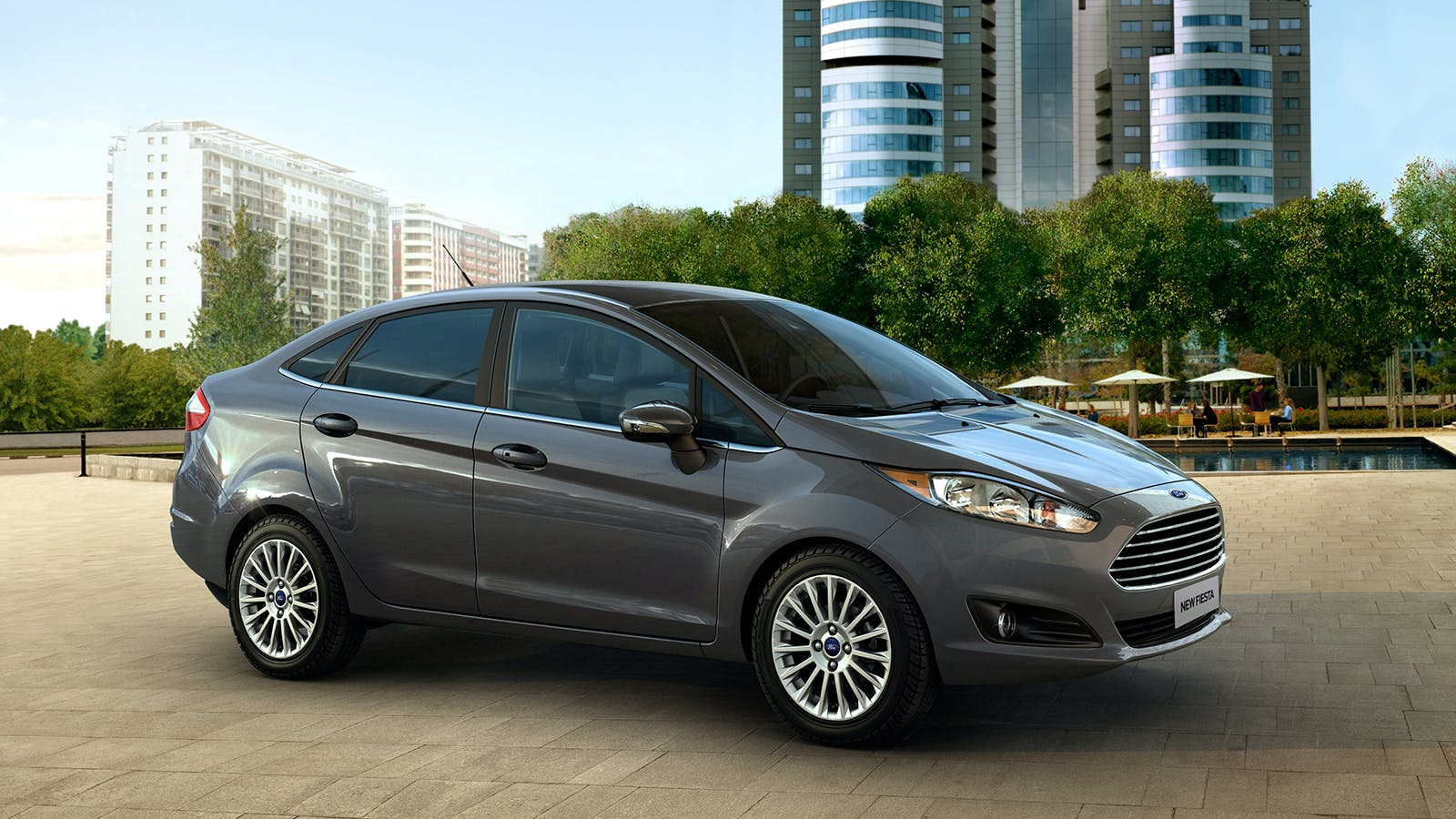 Ford New Fiesta Sedan - Thumb